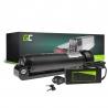 Akku Batterie Green Cell Bottle 36V 5.2Ah 187Wh für Elektrofahrrad E-Bike Pedelec