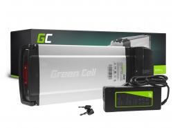 Dobíjecí baterie Green Cell zadní stojan 36V 8,8 Ah 317 Wh pro elektrický bicykel E-Bike Pedelec