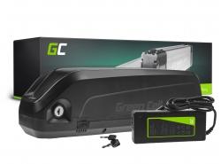 Akku Batterie Green Cell Down Tube 48V 13Ah 624Wh für Elektrofahrrad E-Bike Pedelec