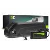Green Cell® E-Bike Akku 48V 13Ah Li-Ion Down Tube Batterie mit Ladegerät