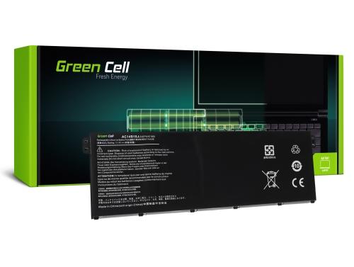 Green Cell Laptop Akku AC14B13J AC14B13K AC14B18J für Acer Aspire E 11 ES1-111M ES1-131 E 15 ES1-512 ES 15 ES1-533