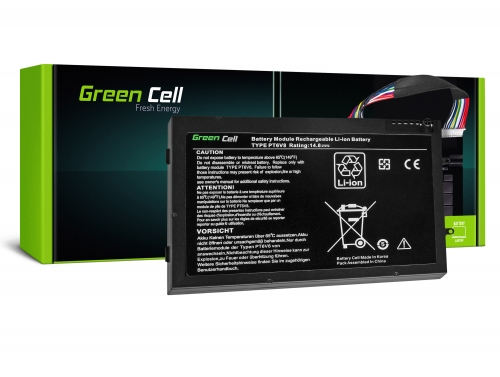 Green Cell Laptop Akku PT6V8 für Dell Alienware M11x R1 R2 R3 M14x R1 R2 R3