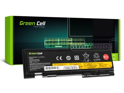 Green Cell Laptop Akku 42T4845 45N1036 45N1037 für Lenovo ThinkPad T420s T420si T430s T430si
