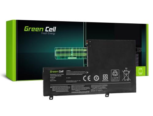 Green Cell Laptop Akku L14M2P21 L14M3P21 für Lenovo Yoga 500-14IBD 500-14ISK 500-15IBD 500-15ISK