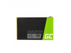 Baterie Green Cell ® 1-853-104-11 LIS1476 pro e-book Sony Reader PRS-T1 PRS-T2 PRS-T3 PRS-T3E PRS-T3S, Li-Polymer, 700mAh