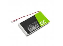 Baterie Green Cell ® AHL03714000 VF8 1697461 pro TomTom GO 530 630 630T 720 730 730T 930 930T SatNav, Li-Polymer 1300mAh 3.7V