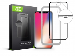 GC Clarity Dust Proof Schutzglas für Apple iPhone X, XS
