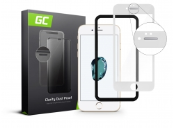 GC Clarity Schutzglas für Apple iPhone 7 8 - Weiß