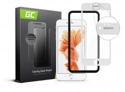 GC Clarity Schutzglas für Apple iPhone 6/6S Plus - Weiß