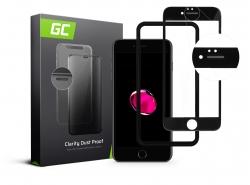 GC Clarity Schutzglas für Apple iPhone 7 Plus, 8 Plus - Schwarz