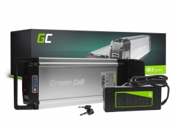 Baterie Baterie Green Cell zadní stojan 36V 11,6Ah 418Wh pro elektrokola E-Bike Pedelec