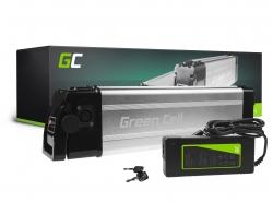 Baterie Green Cell Silverfish 36V 11Ah 396Wh pro elektrické kolo e-kolo Pedelec