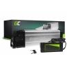 Green Cell® E-Bike Akku 36V 11Ah Li-Ion Pedelec Silverfish Batterie mit Ladegerät