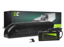 Baterie Baterie Green Cell Down Tube 36V 11,6Ah 418Wh pro elektrokola E-Bike Pedelec