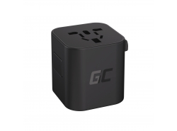 Green Cell GC TripCharge Universaladapter zur Steckdose
