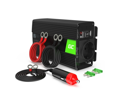 Green Cell® Wechselrichter Spannungswandler 24V auf 230V 500W/1000W