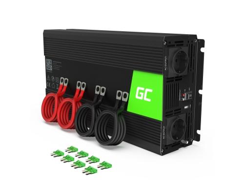 Green Cell® Wechselrichter Spannungswandler 12V auf 230V 3000W/6000W