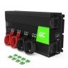Green Cell® Wechselrichter Spannungswandler 24V auf 230V 2000W/4000W Reiner sinus