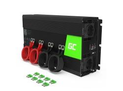 Green Cell® 3000W/6000W Reiner Sinus Spannungswandler Wechselrichter 24V 230V Inverter