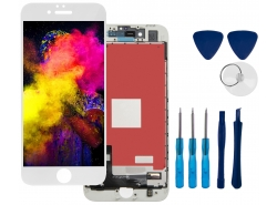 LCD Display Touch Screen for Apple iPhone 8 White + tools