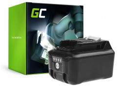 Green Cell® Batterie Akku BL1016 BL1021B BL1040B BL1041B Green Cell (4Ah 12V) für Makita DF031 DF331 HP330 HP331 TD110 TM30