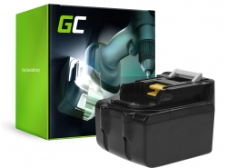Green Cell® Batterie Akku Green Cell (5Ah 14.4V) für Makita BL1415 BL1430 BL1440