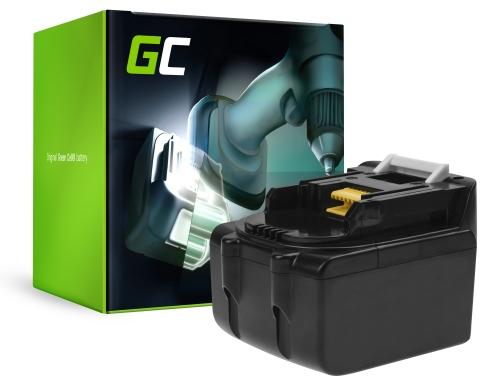 Green Cell® Batterie Akku Green Cell (5Ah 14.4V) für Makita BL1415 BL1430 BL1440