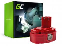 Green Cell® Batterie Akku 1822 1833 PA18 Green Cell (2Ah 18V) für Makita 4334D 6343D 6347D 6349D 6390D 8390D 8391D