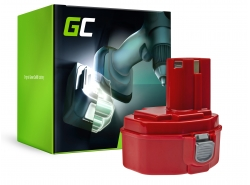 Green Cell® Batterie Akku Green Cell (2Ah 14.4V) für Makita 1420 1433 4033D 4332D 4333D 6228D 6337D