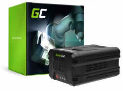 Green Cell® Batterie Akku (2Ah 80V) GBA80200 2901302 für GreenWorks Pro 80V GHT80321 GBL80300 ST80L210