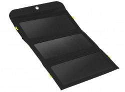 Nabíječka, solární panel 21 W Green Cell GC SolarCharge s funkcí power banka 6400 mAh