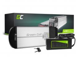 Baterie Baterie Green Cell zadní stojan 36V 10Ah 360Wh pro elektrokola E-Bike Pedelec