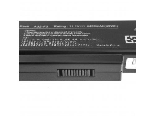 Green Cell ® Laptop Akku A32-F3 für Asus F2 F2J F3 F3S F3E F3F F3K F3SG F7 M51