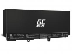 Green Cell ULTRA Laptop Akku A41N1308 A31N1319 für Asus F751L R509 R512 R512C X451 X551 X551C X551CA X551M X551MA X551MAV X751L