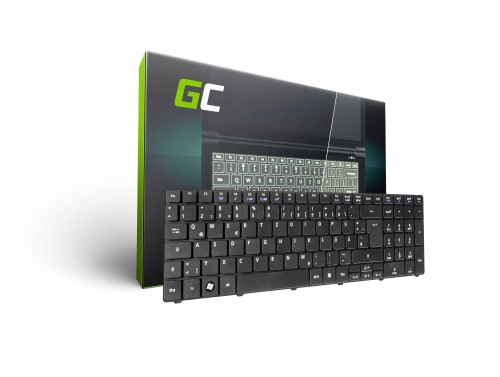 Green Cell ® Tastatur für Laptop Acer Aspire 5338 5738 5741 5741G 5742 QWERTZ DE