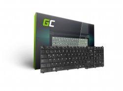 Klávesnice Green Cell ® pro notebook Toshiba Satellite C650 C655 C660 L650 L670 L750