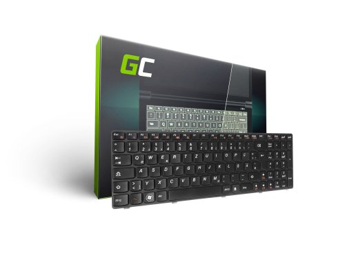 Green Cell ® Tastatur für Laptop Lenovo IdeaPad G580 G585 P580 V580 V585 Z580 Z585 QWERTZ DE