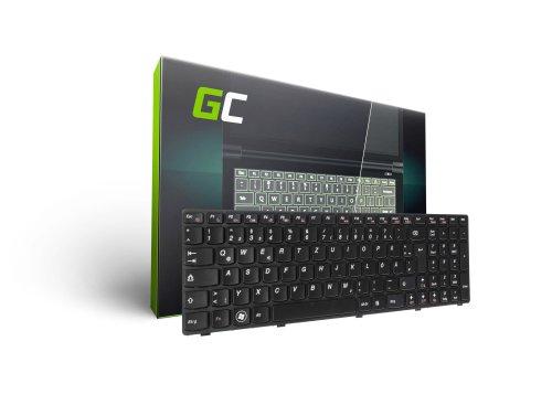 Green Cell ® Tastatur für Laptop Lenovo IdeaPad B570 B575 B580 B590 Z570 QWERTZ DE