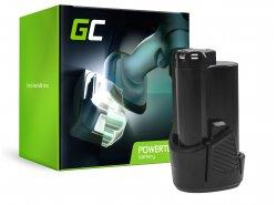 Green Cell® Batterie Akku (2Ah 12V) 5130200008 BSPL1213 B-1013L für Ryobi RCD12011L RMT12011L RRS12011L BB-1600 BHT-2600