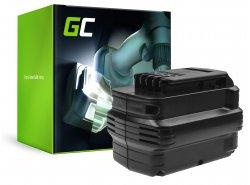 Batterie (3Ah 24V) DE0240 DE0241 DE0243 Green Cell für DeWalt DC222KA DC223KA DC224KA DW006 DW008 DW017