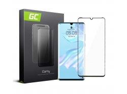 Schutzglas für Huawei P30 Pro edge glue GC Clarity Panzerglas Schutzfolien Displayschutz 9H Härte