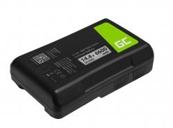 Baterie Green Cell V-Mount pro Sony BP-95W 6600mAh 95Wh 14,4V