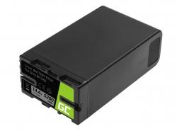 Batterie Green Cell BP-U90 BP-U60 BP-U30 für Sony 5200mAh 75Wh 14,4V