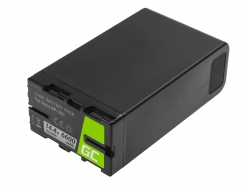 Batterie Green Cell BP-U90 BP-U60 BP-U30 für Sony 6600mAh 95Wh 14,4V