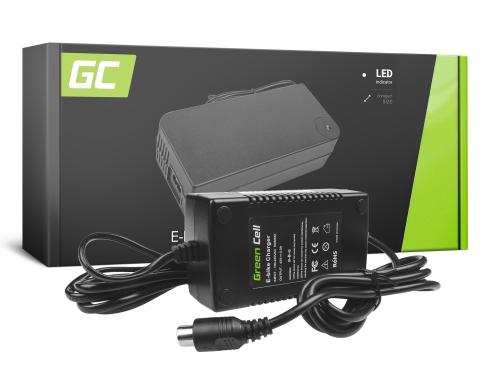 Green Cell ® Nabíječka pro elektrická kola, zástrčka: RCA, 42V, 2A