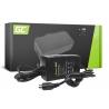 Green Cell ® Ladegerät für Elektrofahrräder, Stecker: RCA, 42V, 2A