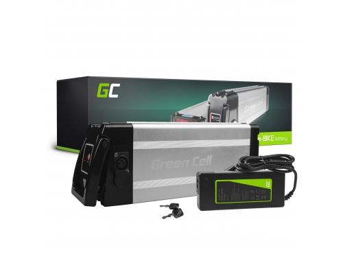 Green Cell ® Baterie pro Elektrokola 48V 11Ah Li-Ion Silverfish s Nabíječkou
