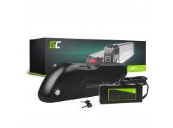 Dobíjecí baterie Green Cell trubice Down Tube 36V 13Ah 468Wh pro elektrokola E-Bike Pedelec