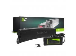 Akku Batterie Green Cell Frame Battery 36V 7.8Ah 281Wh für Elektrofahrrad E-Bike Pedelec