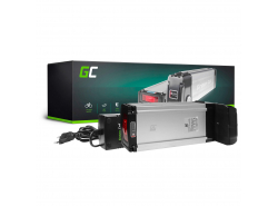 Green Cell® E-Bike Akku 36V 20.3Ah Li-Ion Samsung Zellen Pedelec Rear Rack Batterie mit Ladegerät
